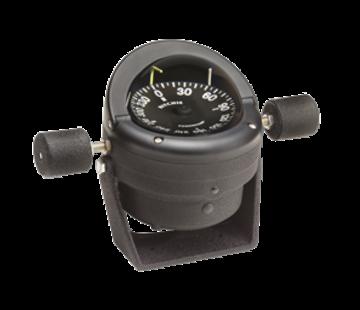 Ritchie Ritchie kompas model Helmsman HB-845  12V  beugelkompas  roosDiameter95mm / 5Graden  zwart