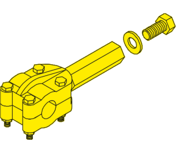 Seastar SeaStar Heavy Duty klemblok H=115mm