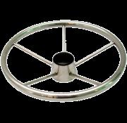 5-Spaaks stuurwiel Model RVS  A=343mm  B=95mm