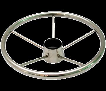 Allpa 5-Spaaks stuurwiel Model RVS  A=394mm  B=105mm