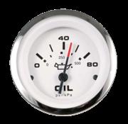 Allpa Lido Pro oliedrukmeter 0-80Psi (SW)