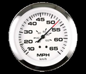 Allpa Lido Pro snelheidsmeter 0-65 Mph (inclusief pitot & slang)