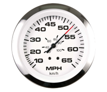 Allpa Lido Pro snelheidsmeter 0-35 Mph (inclusief pitot & slang)