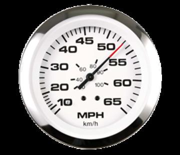 Allpa Lido Pro snelheidsmeter 0-50 Mph (inclusief pitot & slang)