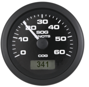 Allpa Premier Pro snelheidsmeter 0-35 Mph (inclusief pitot & slang)