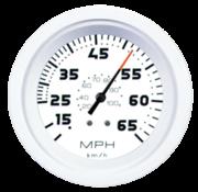 White Domed waterdrukmeter 30Psi
