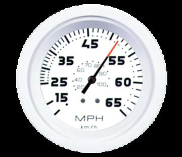 Allpa White Domed waterdrukmeter 15Psi