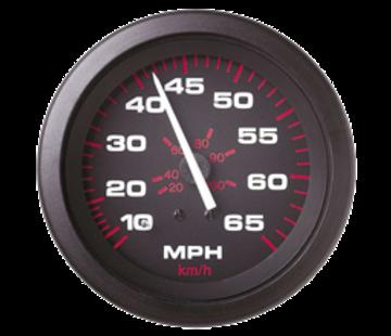 Allpa Amega Domed snelheidsmeter 0-50 Mph (inclusief pitot & slang)