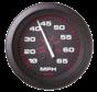 Amega Domed snelheidsmeter 0-50 Mph (inclusief pitot & slang)