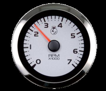 Allpa Argent Pro multi instrument meter (4-functies: oliedruk / temperatuur / brandstof / volt)