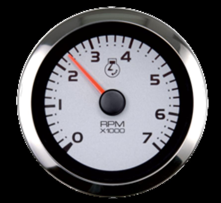 Argent Pro multi instrument meter (4-functies: oliedruk / temperatuur / brandstof / volt)