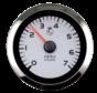 Argent Pro oliedrukmeter 0-80Psi (SW)