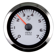 Allpa Argent Pro Multi instrument meter (3-functies: snelheid / temperatuur / oliedruk)
