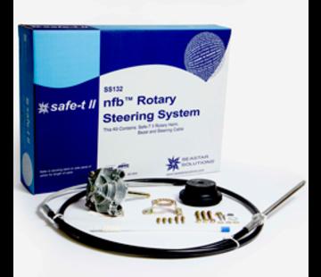 Seastar SeaStar Safe-T II (no-feedback) 3.2 rotary stuursysteem met kabel 15' (4.57m)