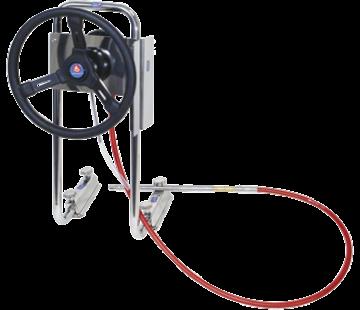 Seastar SeaStar P55-stuursysteem voor rubberboot met 7'-kabel *