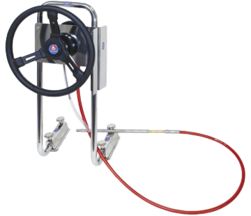 Seastar SeaStar P55-stuursysteem voor rubberboot met 11'-kabel *
