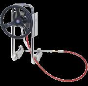 Seastar SeaStar P55-stuursysteem voor rubberboot met 12'-kabel *