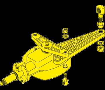 Seastar SeaStar Stuurkop 135Graden Jet boat besturing