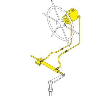 Seastar SeaStar / Capilano hydraulische inboard besturing systeem-6 / 151kgm