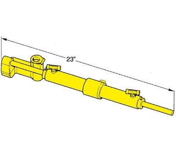 Seastar SeaStar Hydr. sterndrivebesturing met tilt pomp voor Merc. etc. Volvo SX (zonder stuurbekrachtiging)