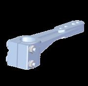 Seastar Allpa Aluminium roerarm voor roerkoning D=30mm