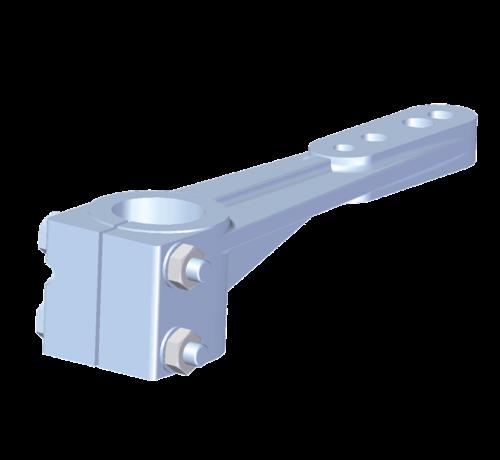 Seastar Allpa Aluminium roerarm voor roerkoning D=40mm