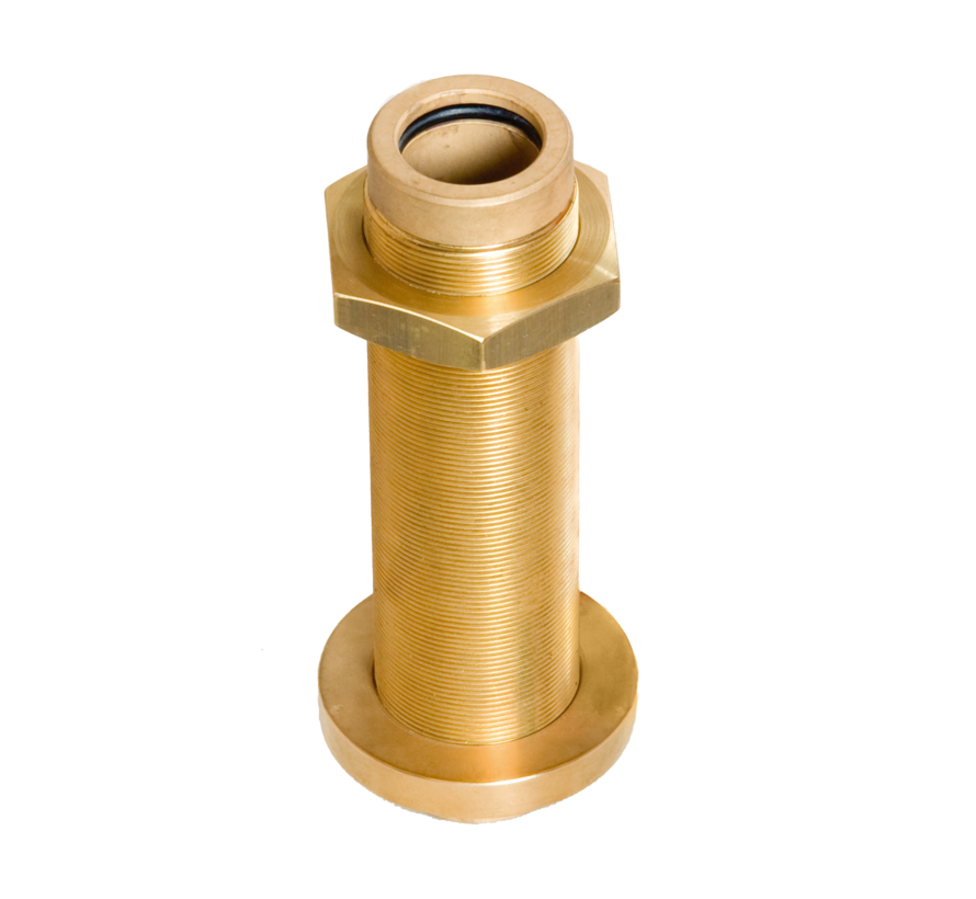 Allpa Bronzen hennegatskoker voor roerkoning D=30mm  L=183mm
