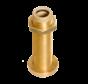 Allpa Bronzen hennegatskoker voor roerkoning D=30mm  L=283mm