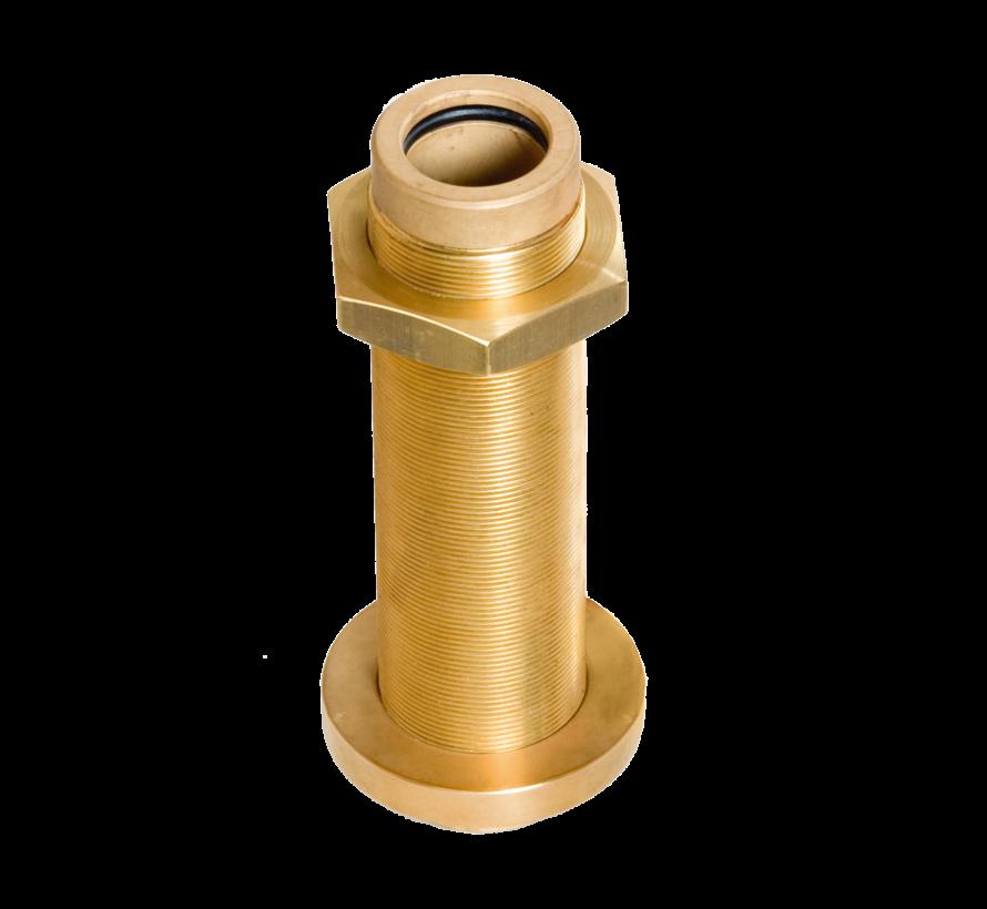 Allpa Bronzen hennegatskoker voor roerkoning D=40mm  L=213mm