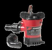 Johnson Pump L-serie bilgepomp (cartridge type) L750  12V/3A  73l/min  opvoerhoogte max. 2 6m