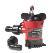 Johnson Pump L-serie bilgepomp (cartridge type) L750  24V/1 5A  73l/min  opvoerhoogte max. 2 6m
