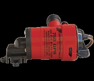 Johnson Johnson Pump Low Boy bilgepomp (cartridge type) L550  12V/3A  50l/min  slangaansluiting 3/4