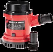 Johnson Pump L-serie bilgepomp L1600  12V/7A  100l/min  slangaansluiting 1-1/8 & 1-1/4