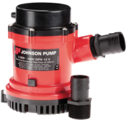 Johnson Pump L-serie bilgepomp L1600  24V/3 5A  100l/min  slangaansluiting 1-1/8 & 1-1/4