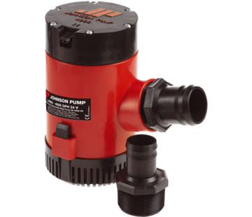 Johnson Johnson Pump L-serie bilgepomp L4000  12V/15 0A  252l/min  slangaansluiting 1-1/2 & 2