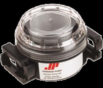 Johnson Johnson Pump inlet filter  3/8  aansluitingen 3/8BSP / 1/2 slang & 1/2 BSP / 3/4 slang