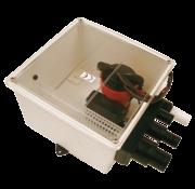 Johnson Johnson Pump douche-afvoerset multiport  12V/3 4A  72l/min