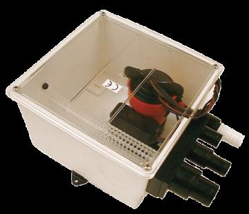 Johnson Johnson Pump douche-afvoerset multiport  24V/3 4A  72l/min
