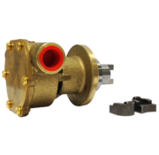 Johnson JP bronzen koelwater-impellerpomp F4B-9 (Mitsubishi K3D - K4D  Vetus STM8050  Vetus M14.14 & M3.10)