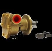 JP bronzen koelwater-impellerpomp F4B-9 (Mitsubishi K3D - K4D  Vetus STM8050  Vetus M14.14 & M3.10)