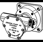 Johnson JP bronzen koelwater-Impellerpomp F4B-9 (Nanni 2.45ECO  N2.10  2.50HE  N2.14  3.75HE  N3.21)