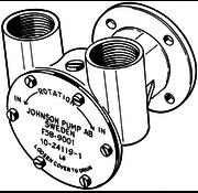 Johnson Johnson Pump bronzen koelwater-impellerpomp F5B-9 (Peugeot DTN50  Renault DTR40/50)