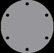 Johnson Johnson Pomp bronzen deksel voor pomp F35 (vervangt Jabsco AL6-200)
