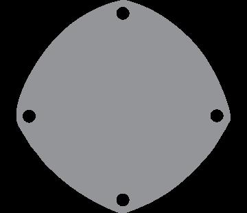 Johnson Johnson Pomp bronzen deksel voor pomp F5 / F6