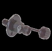 Johnson JP Kunststof Quick-Connect wandaansluiting voor dekwaspomp  kraan of douche  3/4 slangconnector