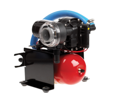 Johnson Johnson Pump Aqua Jet Uno waterdruksysteem WPS 3.5  12V/100W  13l/min  max. 2.8bar  stalen tank 2l