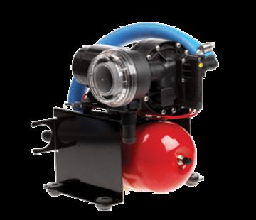 Johnson Johnson Pump Aqua Jet Uno waterdruksysteem WPS 5.2  12V/100W  20l/min  max. 2.8bar  stalen tank 2l