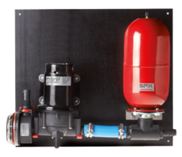 Johnson Johnson Pump Aqua Jet Uno Max waterdruksysteem WPS 2.9  12V/90W  11l/min  max. 2.8bar  tank 2l