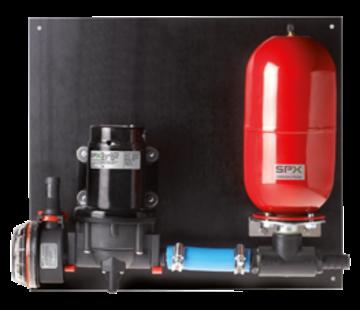 Johnson Johnson Pump Aqua Jet Uno Max waterdruksysteem WPS 3.5  12V/100W  13l/min  max. 2.8bar  tank 2l