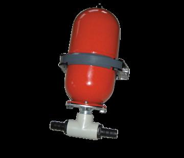 Johnson Johnson Pump accumulator (expansietank)  voordruk 0 8bar  werkdruk max. 12bar  stalen tank 2l